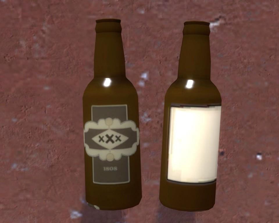 Cripple Cock Farmyard Scrumpy Cider Stoneware Bottle