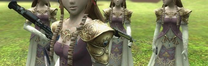 Zelda Player Model and Ragdoll For Garry's Mod Image 1
