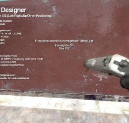 Ironsights Designer v1 For Garry's Mod Image 3