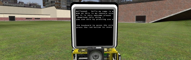 maws_wired_console_screen_keyp For Garry's Mod Image 1