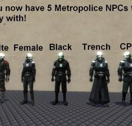 metropolice_npcs.zip For Garry's Mod Image 3