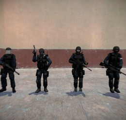 Nightmare House 2 SWAT models For Garry's Mod Image 1