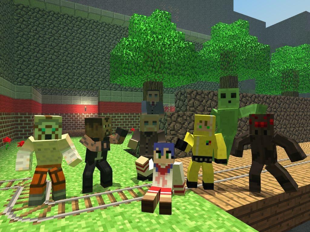 Minecraft Hexed Skins V 2 | garrysmods org