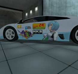 evangelion-eva00-racing_lambor For Garry's Mod Image 2