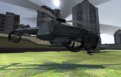 flyable_combine_heli.zip For Garry's Mod Image 1