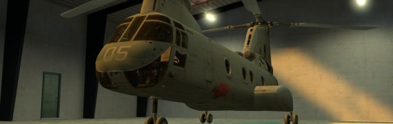 WAC CH-46 Sea Knight Add-on