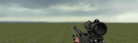 CoD: Black Ops L96A1 ACOG