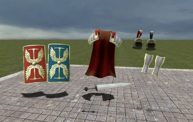 tf2_roman_soldier_items_hexed. For Garry's Mod Image 1