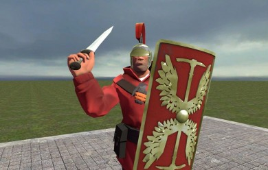 tf2_roman_soldier_items_hexed. For Garry's Mod Image 2