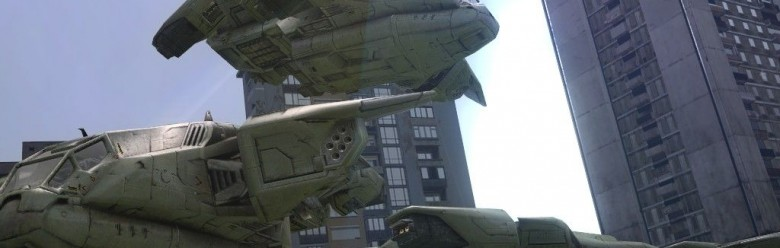 Halo 3 Pelican For Garry's Mod Image 1