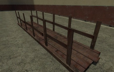 wooden_bridge.zip For Garry's Mod Image 2
