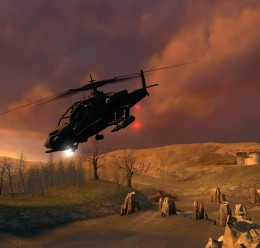 Apache In HL2 v. 3 For Garry's Mod Image 1