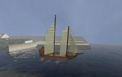 s.sail_ship.zip For Garry's Mod Image 1
