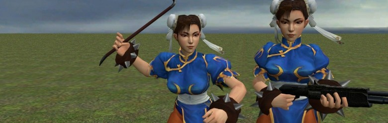Chun Li Player & NPC For Garry's Mod Image 1