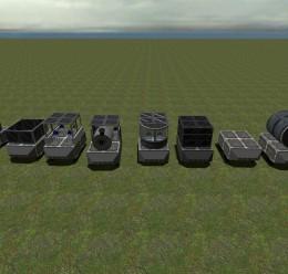 mini_trains.zip For Garry's Mod Image 1