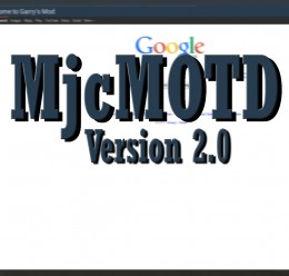 MjcMOTD  For Garry's Mod Image 1