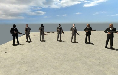 Kane & Lynch NPCs For Garry's Mod Image 1