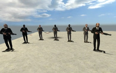 Kane & Lynch NPCs For Garry's Mod Image 2