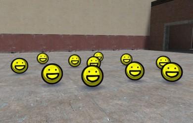 smiley_balls.zip For Garry's Mod Image 2