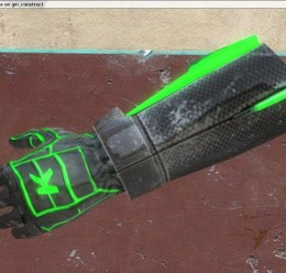green_glowing_gloves.zip For Garry's Mod Image 1