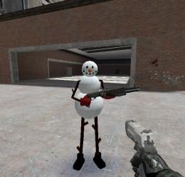 Snow Man Player Model/NPC For Garry's Mod Image 1