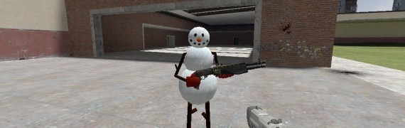 Snow Man Player Model/NPC