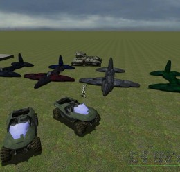 ww2_plane_pack_v2.zip For Garry's Mod Image 1