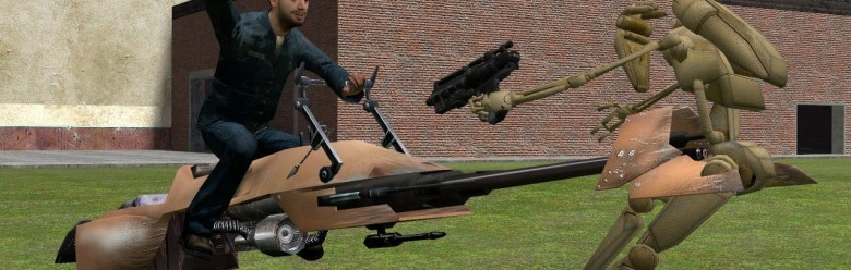 Speederbike Model For Garry's Mod Image 1