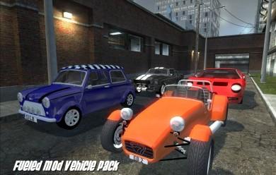 Fueled Mod Vehicle Pack V1.2 For Garry's Mod Image 1