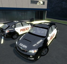 Subaru Police skin For Garry's Mod Image 1