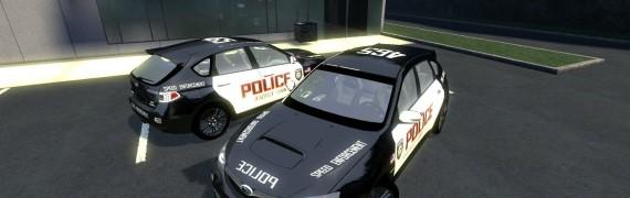 Subaru Police skin