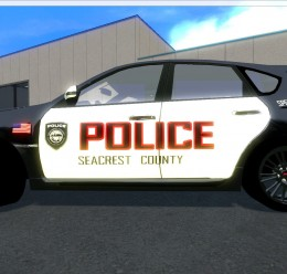 Subaru Police skin For Garry's Mod Image 2