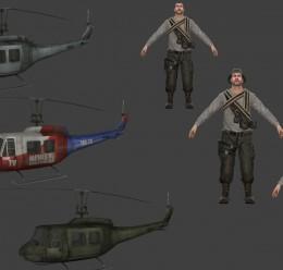 L4D 2 Fallen Survivor and Heli For Garry's Mod Image 2