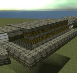 Large Stargate Cruiser.zip For Garry's Mod Image 1
