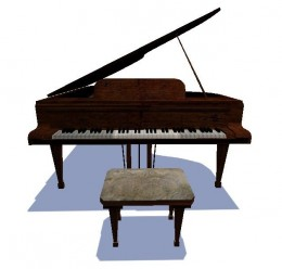 A Piano Model For Garry's Mod Image 1
