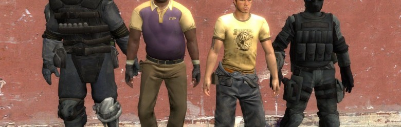 L4D2 Resident Evil Survivors For Garry's Mod Image 1
