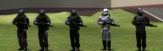 Freespace Combine NPCs