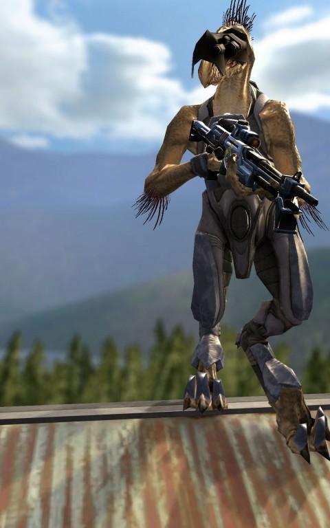 Halo 3 Jackal and Drone   garrysmods org