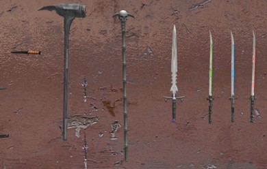 Melee Weapon Pack (15 Weapons) For Garry's Mod Image 2