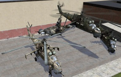 BF2 Mi-35 & Eurocopter Tiger For Garry's Mod Image 1
