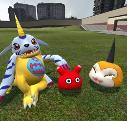 Digimon_ragdoll_pack_#2.zip For Garry's Mod Image 2