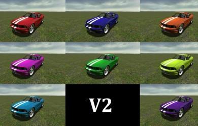 Ford Mustang GT V2 SCar For Garry's Mod Image 2