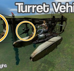 Turret Mounted Vehicles For Garry's Mod Image 1
