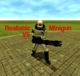 Realistic Minigun V5.zip For Garry's Mod Image 1