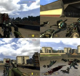 Military HL2 Weapon Skin Pack For Garry's Mod Image 2