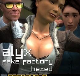 ff_alyx_hexed_model_+_npc.zip For Garry's Mod Image 1