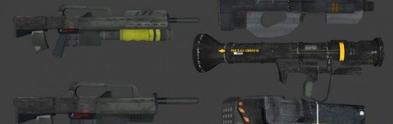 Starship Troopers Weapons Pack