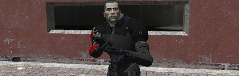 John Shepard Player For Garry's Mod Image 1
