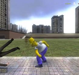 Homer player model V2 FIX!!! For Garry's Mod Image 3