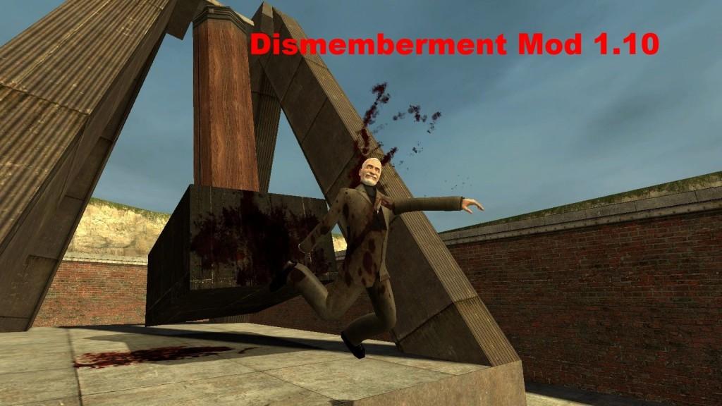 Скачать dismemberment mod для гаррис мод 13